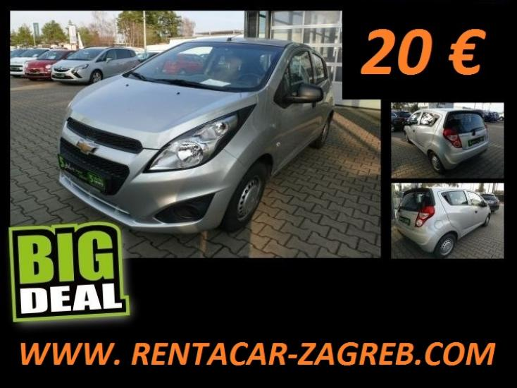 Rent a Car Zagreb Chevrolet Spark 1.0 16V