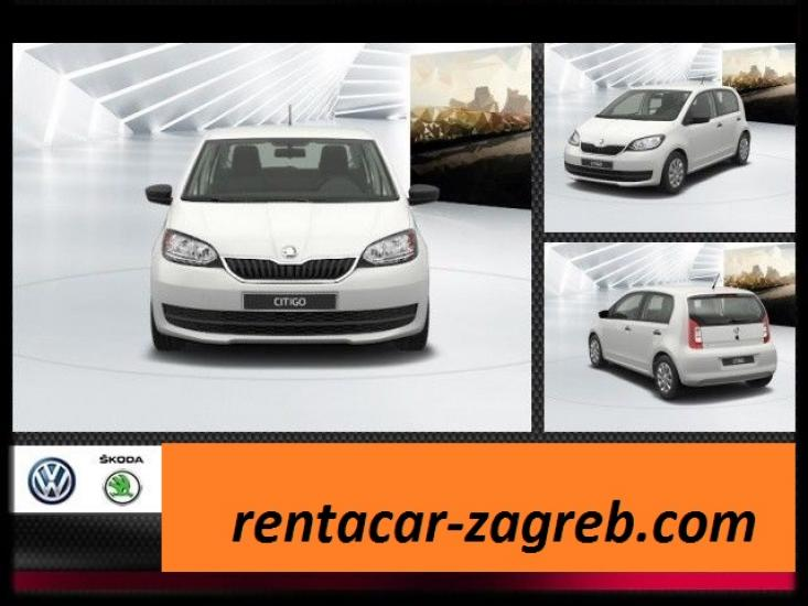 Rent a Car Zagreb Skoda CITIGO